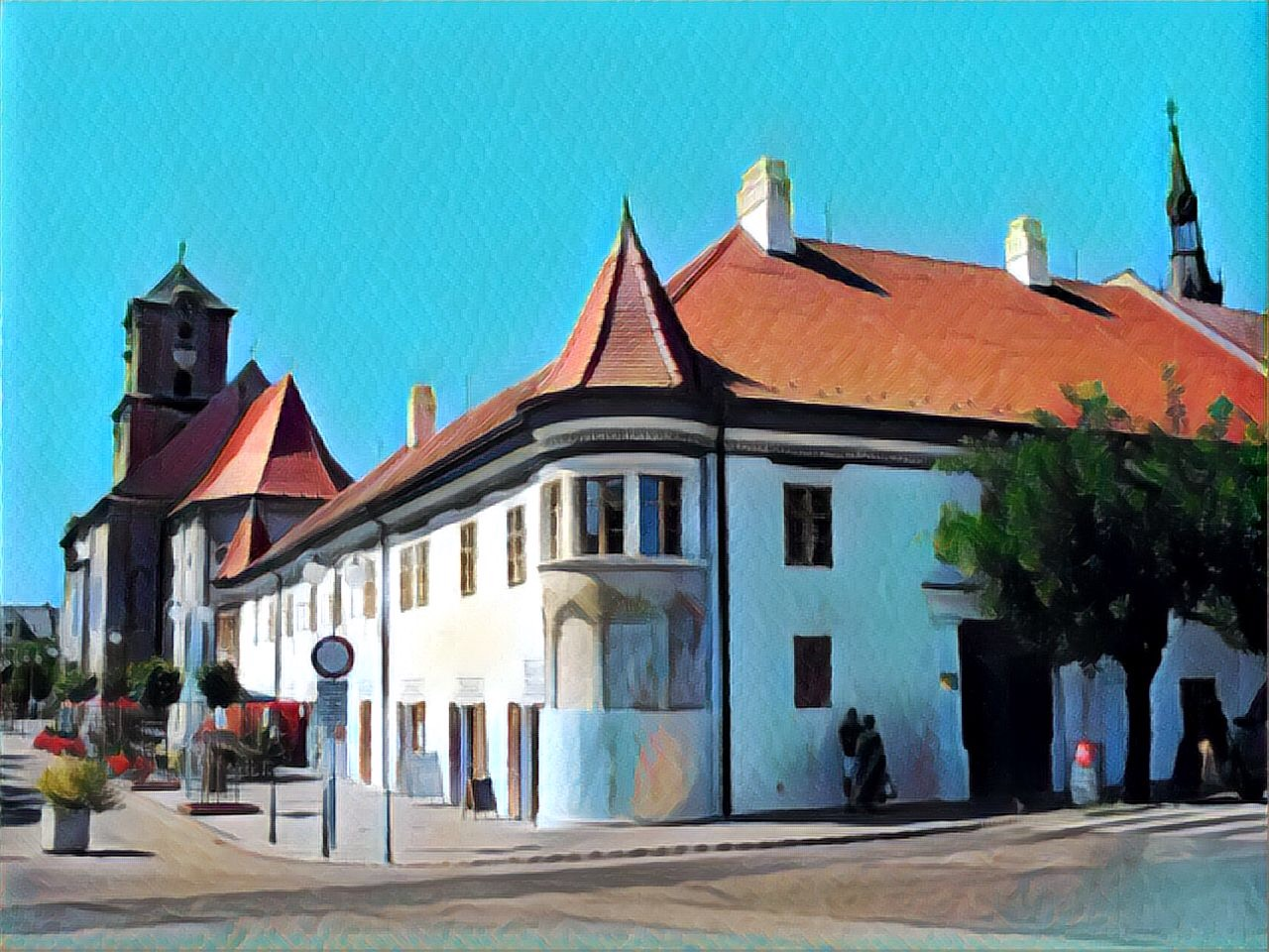 Pezinok City Church